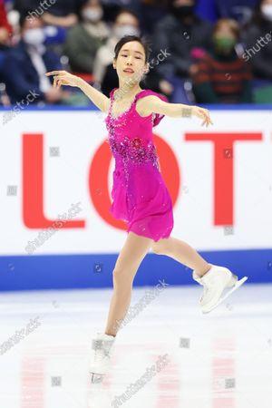Editorial picture of Figure Skating : ISU Grand Prix of Figure Skating 2020/21 NHK Trophy, Osaka, Japan - 27 Nov 2020