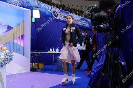Kana Muramoto (JPN) - Figure Skating :  ISU Grand Prix of Figure Skating 2020/21  NHK Trophy  Women's Free Skating  at Towayakuhin RACTAB Dome, Osaka, Japan.