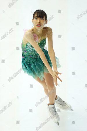 Editorial image of Figure Skating : ISU Grand Prix of Figure Skating 2020/21 NHK Trophy, Osaka, Japan - 28 Nov 2020