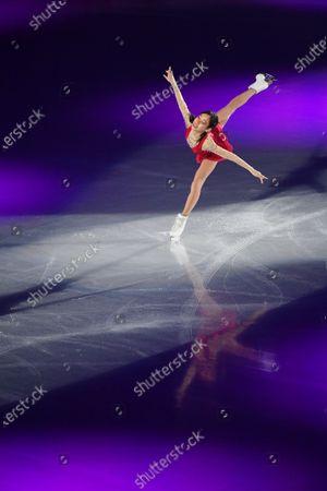 Mai Mihara (JPN) - Figure Skating : ISU Grand Prix of Figure Skating 2020/21 NHK Trophy Exibition Gala at Towayakuhin RACTAB Dome, Osaka, Japan.