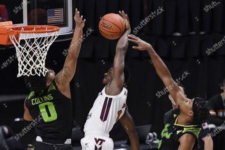 Editorial image of South Florida Virginia Tech Basketball, Uncasville, United States - 29 Nov 2020