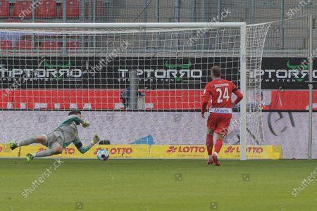 Editorial picture of FC Heidenheim v Hamburger SV, 2.Bundesliga, Germany - 29 Nov 2020