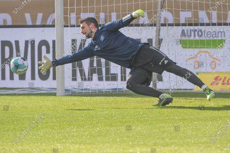 Stock Image of Torwart Sven Ulreich (Hamburger SV #26),1.FC Heidenheim