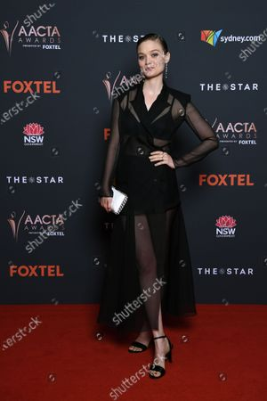 Editorial picture of Australian Academy of Cinema and Television Arts Awards in Sydney, Australia - 30 Nov 2020
