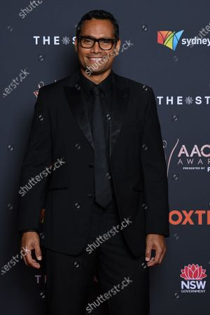 Stock Photo of Australian television actor Rob Collins arrives at the 2020 Australian Academy of Cinema and Television Arts (AACTA) Awards in Sydney, Australia, 30 November 2020.