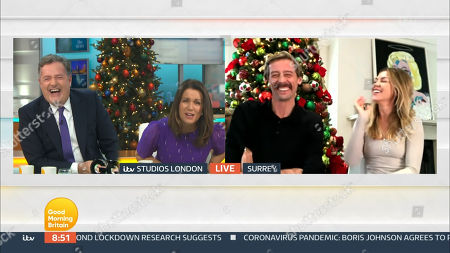 Piers Morgan, Susanna Reid, Peter Crouch and Abigail Clancy