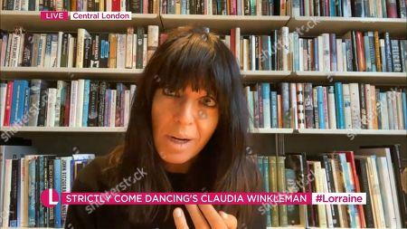 Editorial photo of 'Lorraine' TV Show, London, UK - 30 Nov 2020