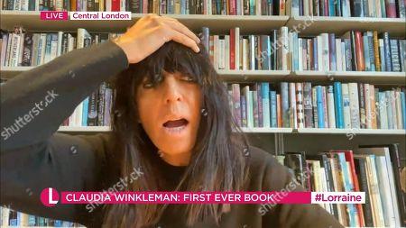 Stock Photo of Claudia Winkleman