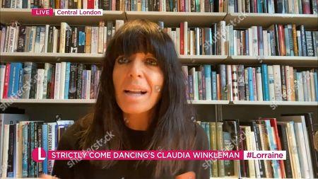 Editorial picture of 'Lorraine' TV Show, London, UK - 30 Nov 2020