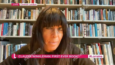 Stock Picture of Claudia Winkleman