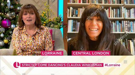 Editorial image of 'Lorraine' TV Show, London, UK - 30 Nov 2020