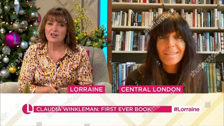 Lorraine Kelly and Claudia Winkleman