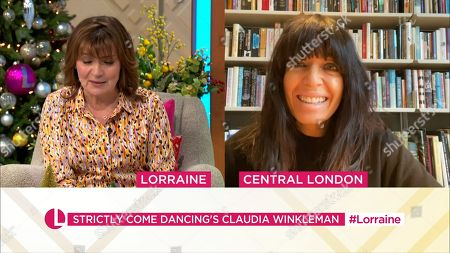 Stock Image of Lorraine Kelly and Claudia Winkleman