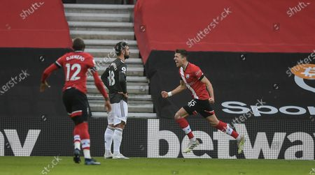 Editorial picture of Southampton FC v Manchester United, Premier League, Football, St Mary's Stadium, Southampton, UK - 29 Nov 2020