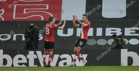 Editorial photo of Southampton FC v Manchester United, Premier League, Football, St Mary's Stadium, Southampton, UK - 29 Nov 2020