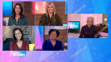Editorial photo of 'Loose Women' TV Show, London, UK - 30 Nov 2020