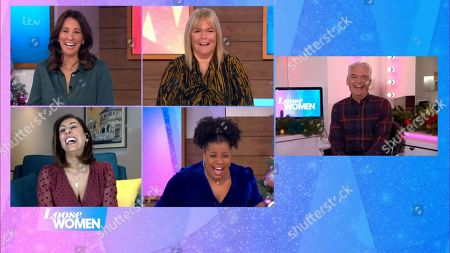 Editorial picture of 'Loose Women' TV Show, London, UK - 30 Nov 2020