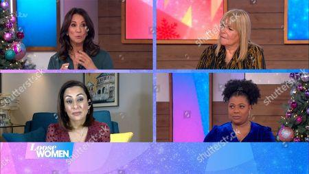 Andrea McLean, Linda Robson, Saira Khan and Brenda Edwards