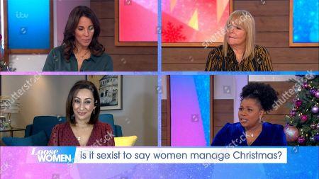 Stock Photo of Andrea McLean, Linda Robson, Saira Khan and Brenda Edwards