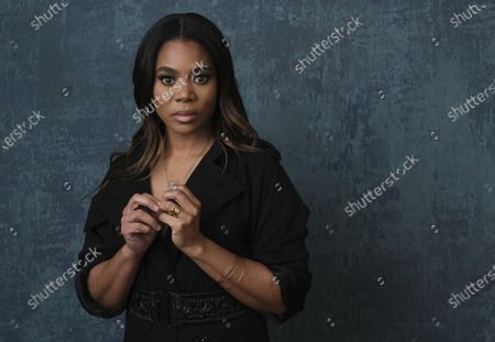 """Regina Hall, a cast member in the Showtime series """"Black Monday,"""" poses for a portrait during the 2020 Showtime Winter Television Critics Association Press Tour, in Pasadena, Calif. Hall turns 50 on Dec. 12"""