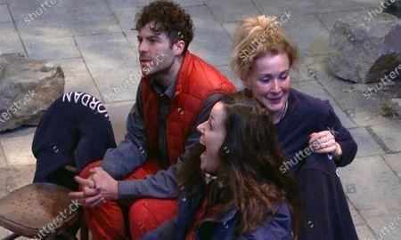 Phone Call and Kiosk Cledwyn's Ye Olde Shoppe - Jordan North, Ruthie Henshall and Beverley Callard