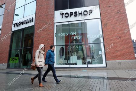 Top Shop Belfast city centre.Sir Philip Green's retail empire Arcadia, which includes Topshop, Burton and Dorothy Perkins, could face collapse within hours.The company could enter administration as soon as Monday, putting 13,000 jobs at risk.Northern Ireland continues to deal with the COVID-19 pandemic as restrictions are set to continue across the UK and Ireland. A new two-week lockdown concentrating on hospitality, bars, restaurants and nonessential retail.