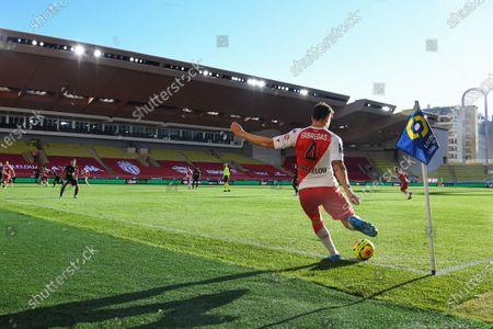 Editorial photo of Monaco v Nimes, Ligue 1 match, Monaco, France - 29 Nov 2020