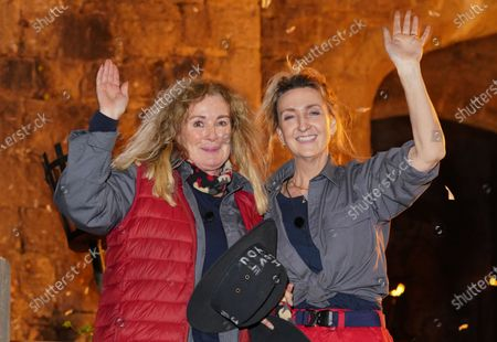 Beverley Callard and Victoria Derbyshire are voted out of the castle