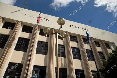 Photograph of the Palace of Justice where two brothers of former Dominican President Danilo Medina (2012-2020) are detained, in Santo Domingo, Dominican Republic, 30 November 2020. Medina's brothers were arrested yesterday morning as part of a group of former officials, suppliers and front men who allegedly took advantage of links with political power to accumulate fortunes during the past government period.