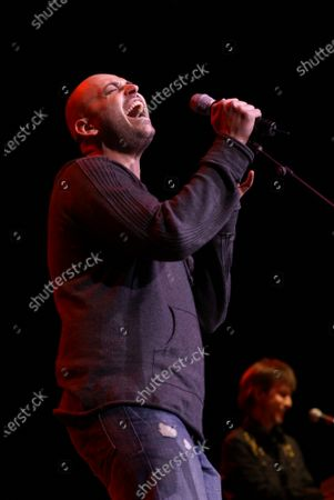 Phil Stacey performs at the Sears Centre in Hoffman Estates, IL.