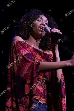 Rissi Palmer performs at the Sears Centre in Hoffman Estates, IL.