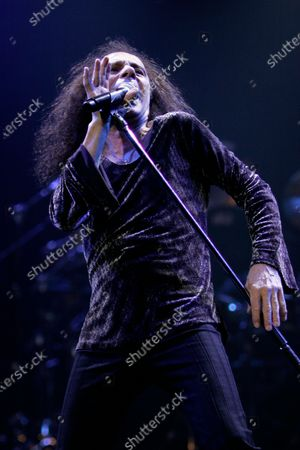 """Ronnie James Dio and Heaven and Hell, also known as Black Sabbath perform at the Sears Centre in Hoffman Estates, IL. on their """"Heaven and Hell Tour 2007"""""""