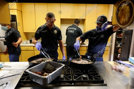 Editorial image of Day-in-the-life of Covid-19 Houston, Texas, paramedic, firefighters, Houston, Texs, Usa - 22 Nov 2020