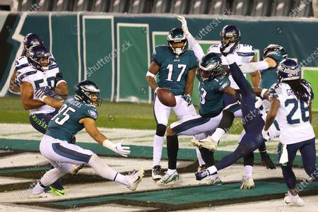 Editorial image of Seahawks Eagles Football, Philadelphia, United States - 30 Nov 2020