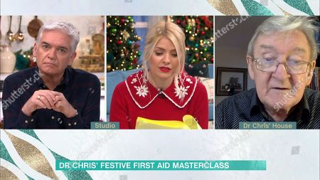 Phillip Schofield, Holly Willoughby, Dr Chris Steele