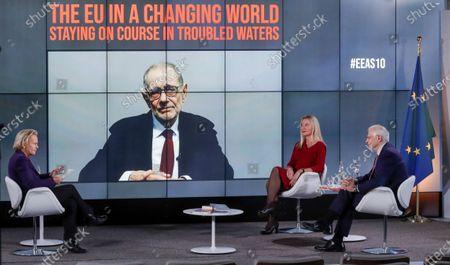 Editorial photo of 10 years anniversary of European External Action Service EEAS, Brussels, Belgium - 01 Dec 2020