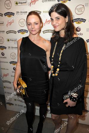 Stella McCartney and Katrina Pavlos