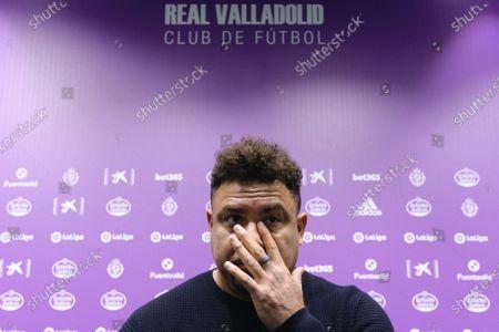 Editorial photo of Real Valladolid presser, Spain - 01 Dec 2020