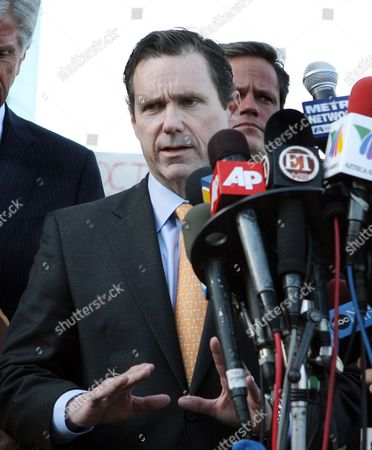 Editorial image of Michael Jackson's doctor Conrad Murray charged with involuntary manslaughter, Los Angeles, America - 08 Feb 2010