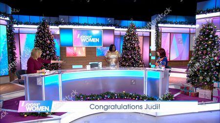 Editorial image of 'Loose Women' TV Show, London, UK - 01 Dec 2020
