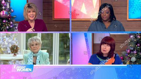 Ruth Langsford, Judi Love, Gloria Hunniford, Janet Street-Porter