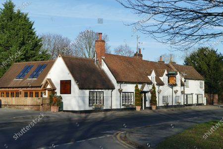 Celebrity chef Tom Kerridge decorates his pub The Hand and Flowers in Marlow ready for the festive season, he is currently on TV with Tom Kerridge Saving Britains Pubs