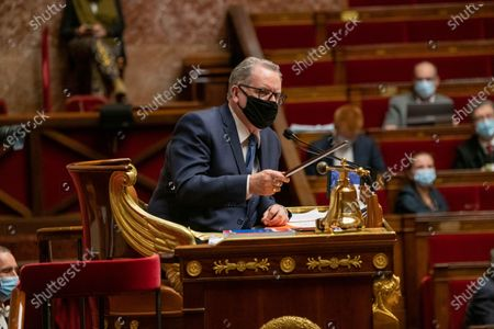 Editorial photo of Weekly session of questions to the government, Paris, France - 01 Dec 2020