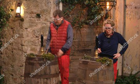 Stock Picture of Pub Challenge, Shane and Beverley - Shane Richie and Beverley Callard