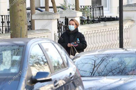 Editorial image of Vera Sahatciu visits Rita Ora's house, London, UK - 01 Dec 2020
