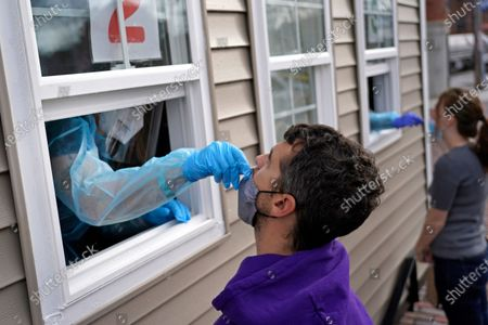 Editorial picture of Virus Outbreak Massachusetts, Chelsea, United States - 01 Dec 2020