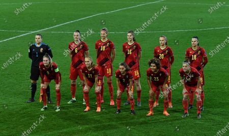 Editorial image of Soccer Euro 2021 Women Qualif Belgium Vs Switzerland, Heverlee, Belgium - 01 Dec 2020