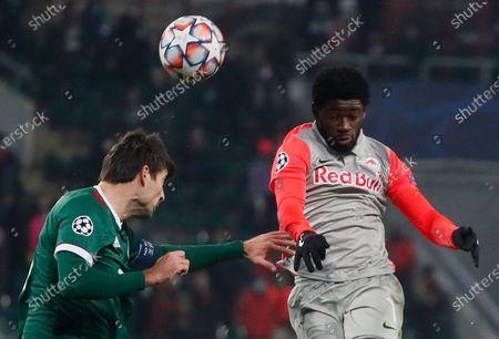 Editorial picture of Lokomotiv Moscow vs FC Salzburg, Russian Federation - 01 Dec 2020