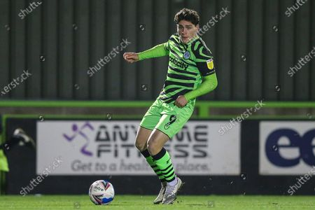 Forest Green Rovers Matt Stevens(9) during the EFL Sky Bet League 2 match between Forest Green Rovers and Newport County at the New Lawn, Forest Green