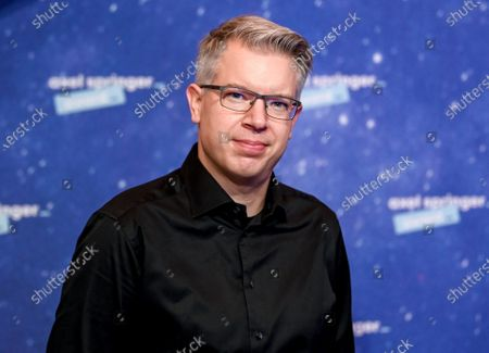 German businessman, investor and author Frank Thelen arrives on the red carpet for the Axel Springer award, in Berlin, Germany, 01 December 2020.